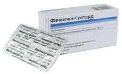 Финлепсин 400 ретард таб. 400 мг №50