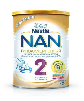 Смесь Nestle Нан 2 400 г