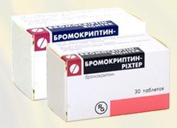 Бромокриптин Ріхтер таб. 2,5 мг №30