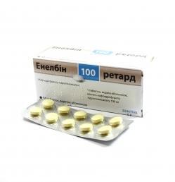 Енелбiн ретард 100 таб. вк/об. 100 мг №50