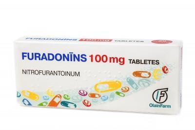 Фурадонин таб. 100 мг №20