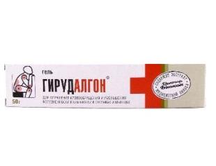 Гирудалгон гель 50,0