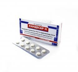 Кандесар таб. 16 мг №10