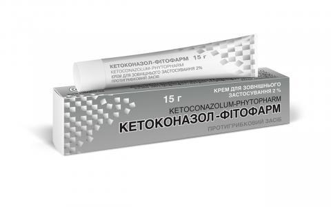 Кетоконазол-фитофарм крем д/наружн. прим. 2% - 15,0