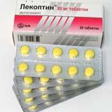 Лекоптин таб. п/об. 80 мг №50