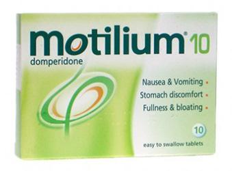 Мотилиум таб. 10 мг №10