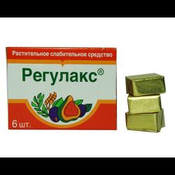 Регулакс  фрукт. кубики №6