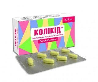Коликид таб. п/об. 125 мг №30