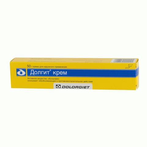 Долгит крем 50 мг/г 50 г