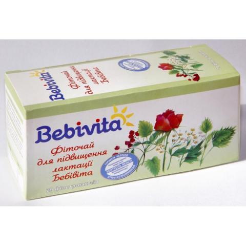 Чай Бебивита д/повышения лактации 200 г