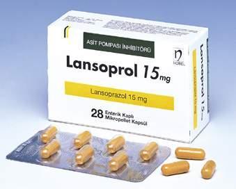 Лансопрол капс. 15 мг №28