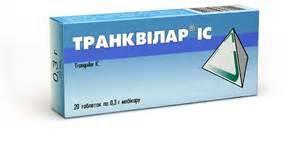 Транквилар IC таб. 0,3 №20