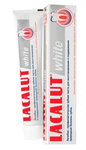лакалут-вайт паста зубная 50,0