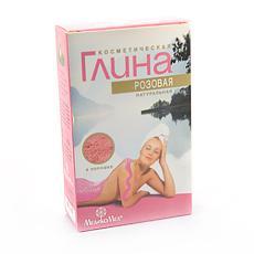 глина косметич.розовая 100 г