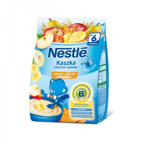 каша Nestle мол рис/банан/ябл/груша бифидобакт. 230 г
