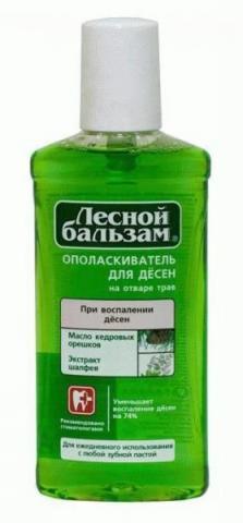ополаск пол. рта Лесной бальз масло кедр ореха/шалфей 400 мл