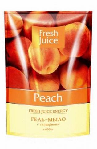 мыло жидк Fresh Juice Peach дой-пак 460 мл