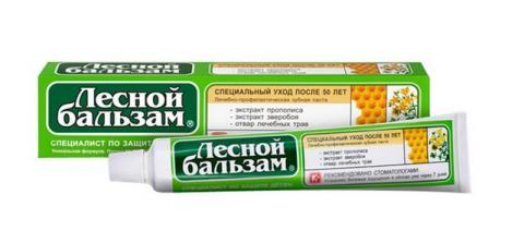 зуб.паста Лесной бальзам прополис/зверобой 75 мл