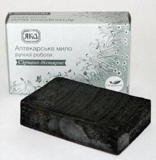 Мыло ручной работы ЯКА серно-дегтярное