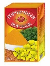 горчица пор. 200 г