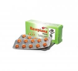валериана таб. п/об. 30 мг № 30