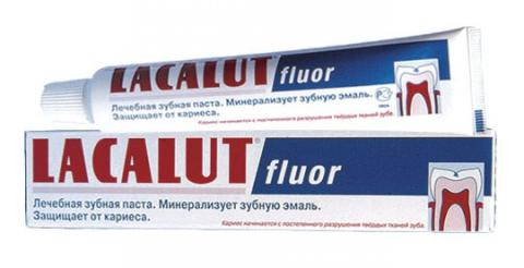 лакалут-фтор паста зубная 75 г