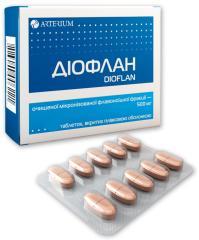 диофлан таб. п/пл. об. 500 мг №60