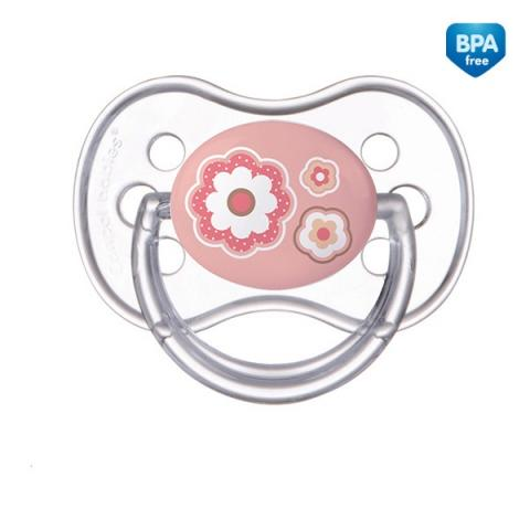 пустышка Canpol силикон кругл. Newborn baby от 0 до 6 мес. 22/562