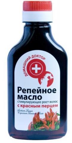 масло репейное с красным перцем 100 мл