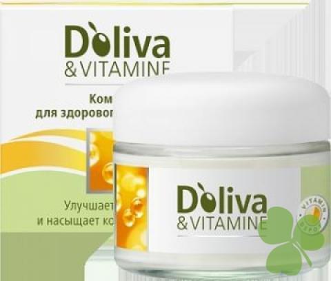 Долива   витамины д/восстан.и сияния кожи крем SPF 6 50 мл