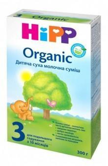 смесь Хипп 2 Органик 300 г