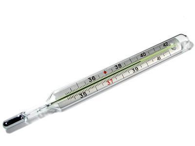 термометр мед.