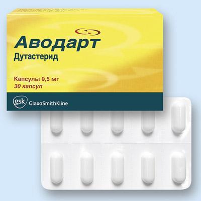 Лечение аденомы и простаты аводарт