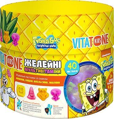 витатон Кидс с витаминами пастилки желейные №40