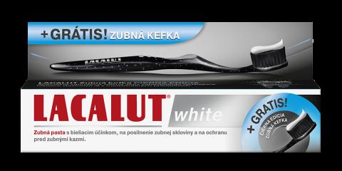 лакалут-вайт паста зубная 75 мл   зуб.щетка Black-Edition (серебро)