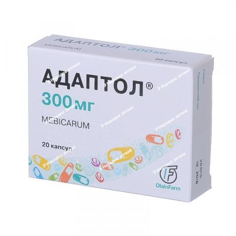 Адаптол капс. 300 мг № 20