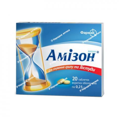 Амізон таб. в/об. 0,25 №20