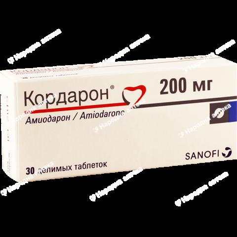 Кордарон таб. 200 мг №30