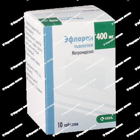 Ефлоран таб. 400 мг №10