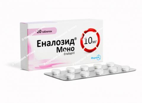 Еналозид моно таб. 10 мг №20