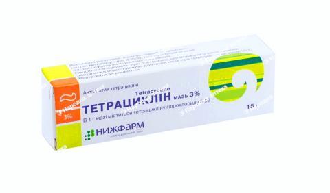 Тетрациклін мазь 3% - 15,0
