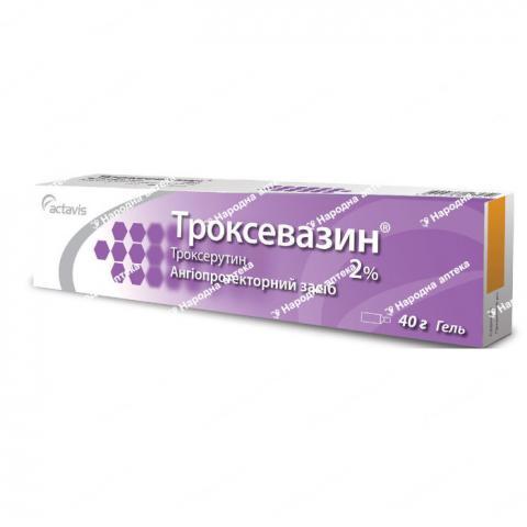 Троксевазин гель 2% - 40,0