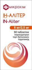 Ін-Алітер таб. 8 мг/2,5 мг №30