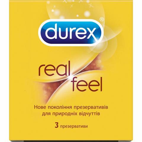 презерв Дюрекс Real Feel №3