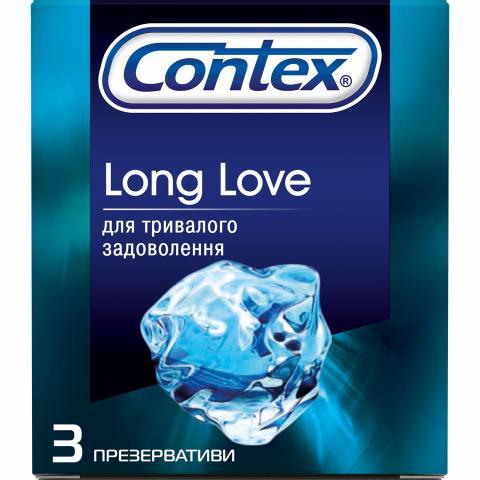 Презерв Контекс длинная любовь с анест. №3
