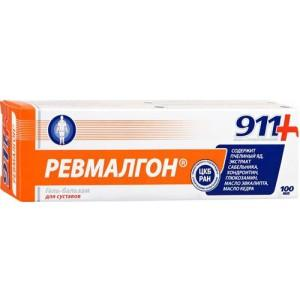 911 Ревмалгон гель д/тела 100 мл