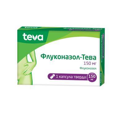флуконазол Тева капс. 150 мг №1