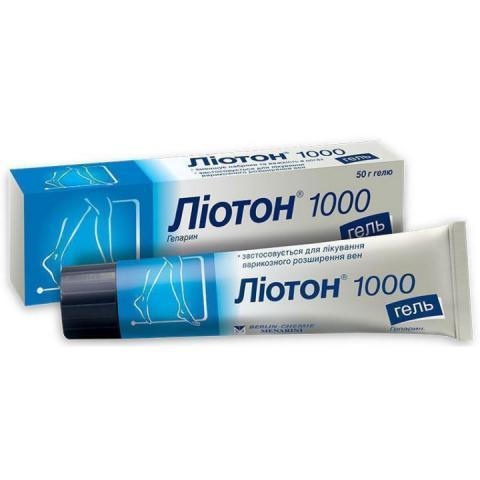Лиотон 1000 гель 50,0