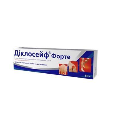 диклосейф форте емульгель 2,32% - 30 г