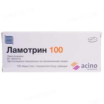 ламотрин таб. 100 мг №60
